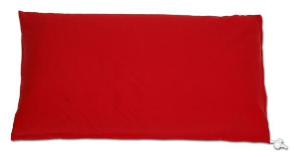 Kissenbezug 57x28cm rot (24)