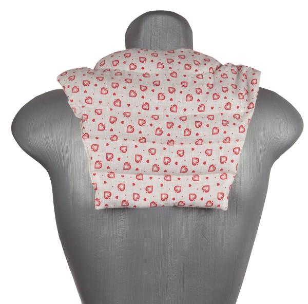 Nacken-Rücken-Wärmekissen liebe