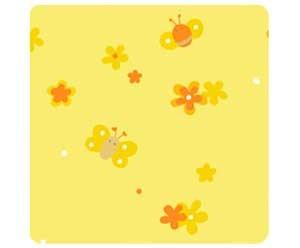 Stillkissenbezug 190x38 -85- Blumenwiese gelb