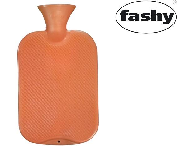 Wärmflasche 2.0l Halblamelle orange 6442