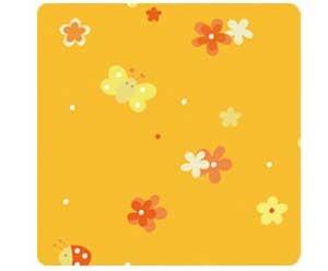 -> Bezug für das Asymmetrische 180x43cm (86) Blumenwiese