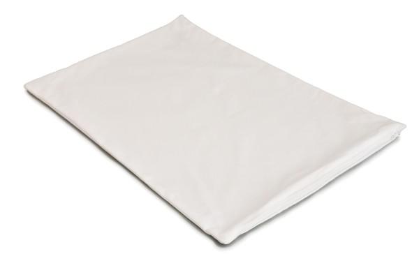 Kissenbezug 40x60cm mit Reißverschluss in weiß