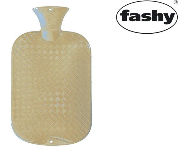 Wärmflasche 2.0l glatte Ausführung ecru 6420