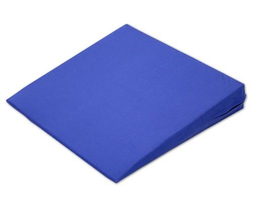 Sitzkeil + Bezug (12) blau 38x38x7/1cm