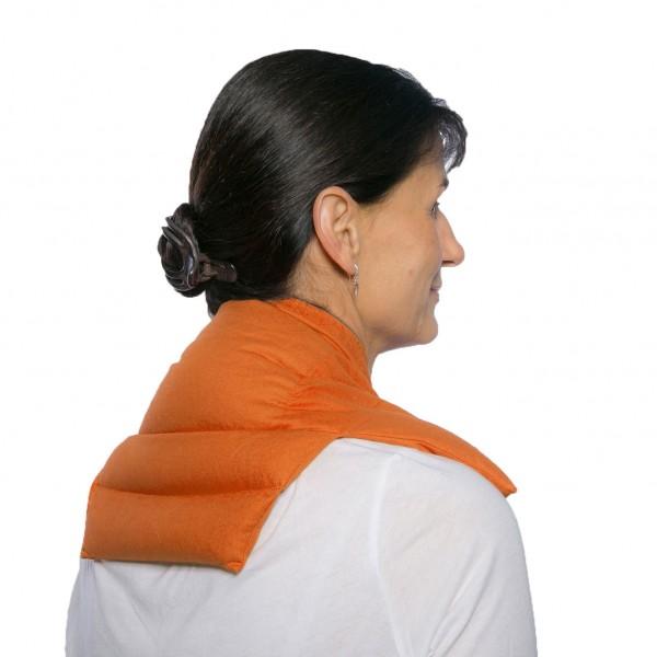 Körner Nackenkissen-Komfort-orange