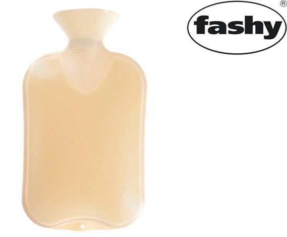 Wärmflasche 2.0l Halblamelle ecru 6442
