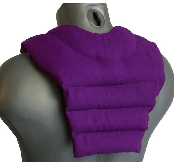 Wärme Nackenkissen mit Rückenteil
