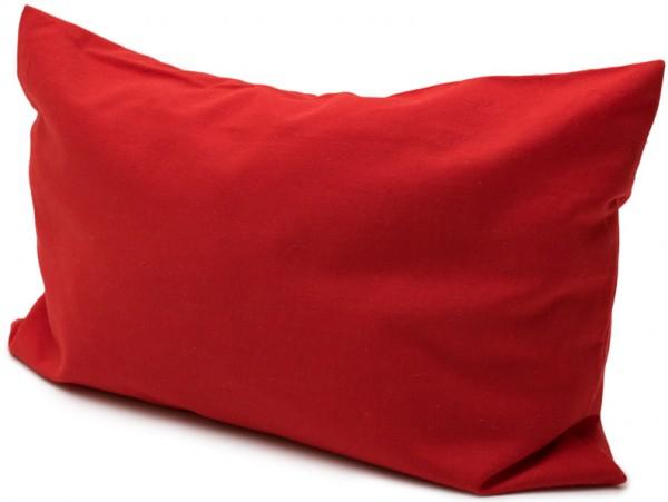 Bio-Eukalyptuskissen Bio-Inlett + Bio-Bezug 30x20cm rot
