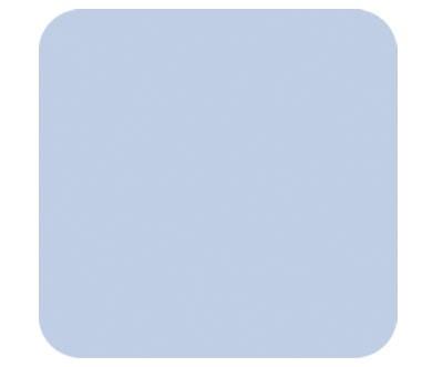 Bezug für das Asymmetrische 180x43cm (82) hellblau