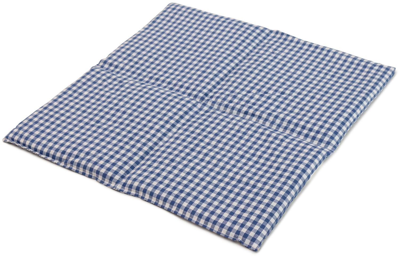 Kühlschrank Unterlage Weis : Körnerkissen 4 kammer 40x40cm maxi blau weiß giraffenland