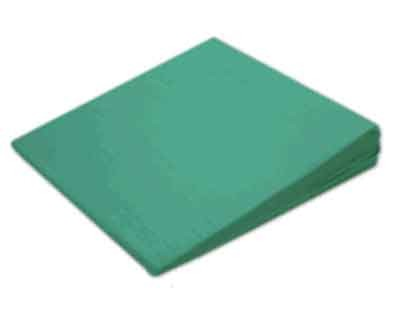 Sitzkeil + Bezug (15) grün 38x38x7/1cm