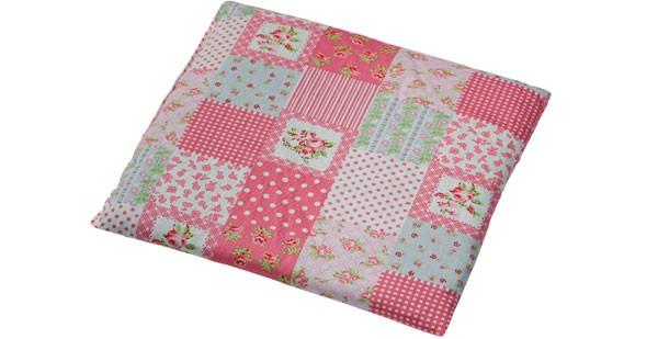-> Rapssamenkissen 24x25cm Patchwork rosa