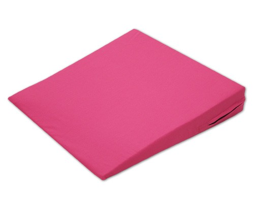 Sitzkeil + Bezug (17) pink 38x38x7/1cm
