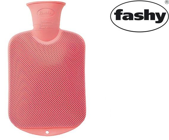 Wärmflasche 0.8l Halblamelle für Kinder rosa 6401
