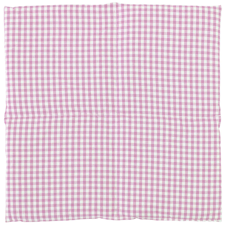 Weizen Wärmekissen rosa-weiß