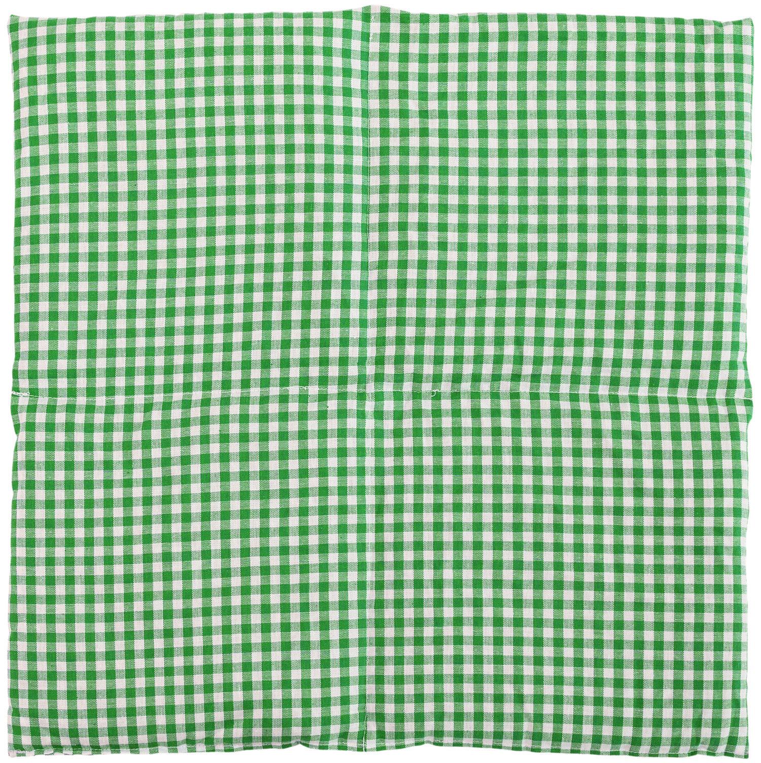 4-Kammer 40x40cm grün-weiß
