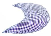 Halbmond 50cm blau-weiß