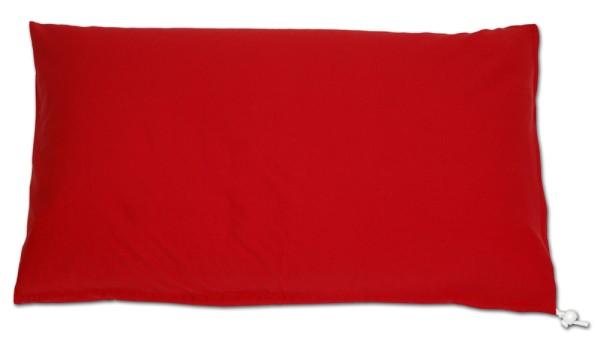 Kissenbezug 80x40cm rot (24)