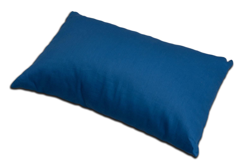 bio lavendelkissen bio inlett bio bezug 30x20cm dunkelblau lavendelduftkissen kr uter. Black Bedroom Furniture Sets. Home Design Ideas