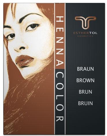 Henna Pulver braun 85g Henna Haarfärbung