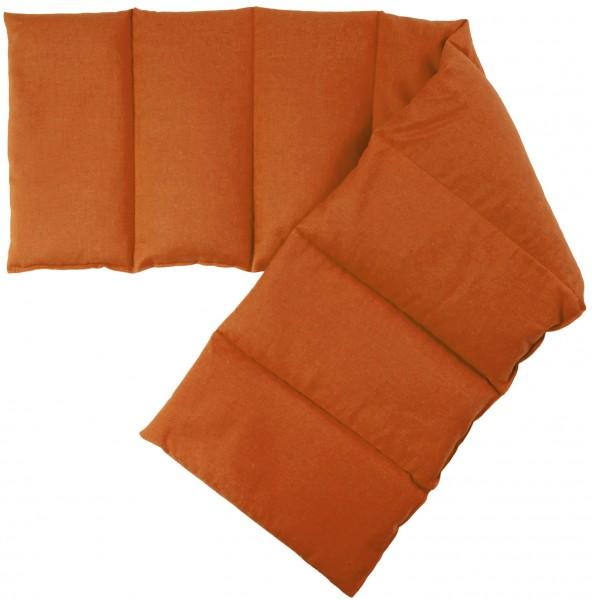 8-Kammer Wärmekissen orange