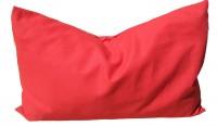 Bio-Lavendelkissen Bio-Inlett + Bio-Bezug 30x20cm  rot