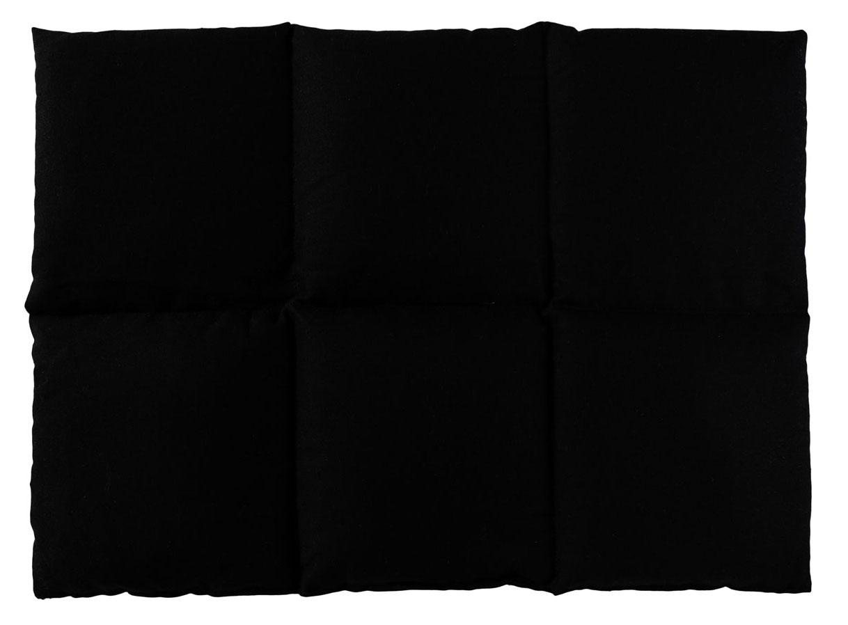 Rapssamenkissen schwarz