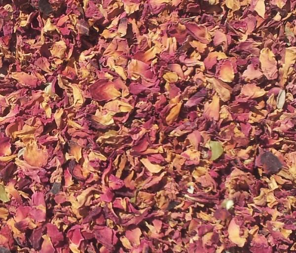 Füllstoff Rosenblüten