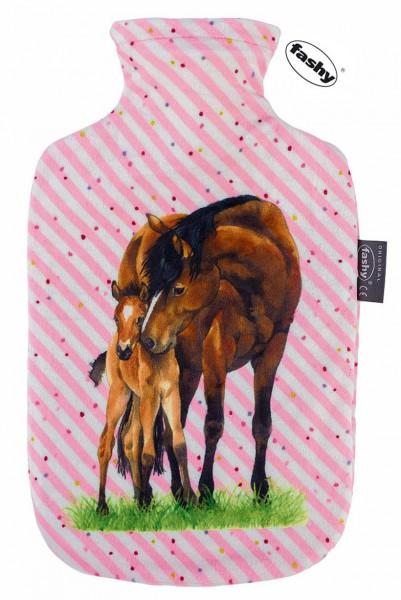 Wärmflasche Pferd und Fohlen