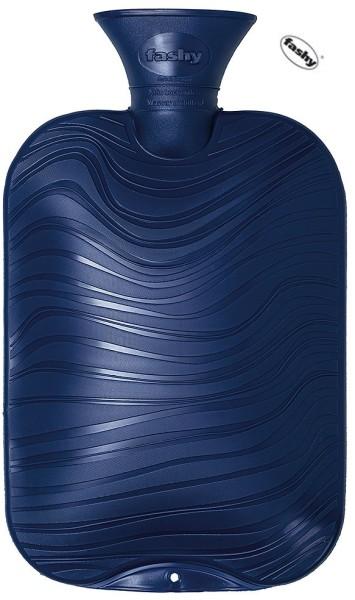 Wärmflasche dunkelblau