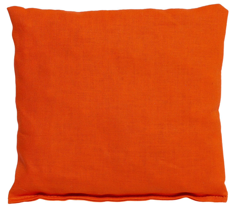 Kirschkernkissen orange