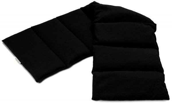 8-Kammer Wärmekissen schwarz
