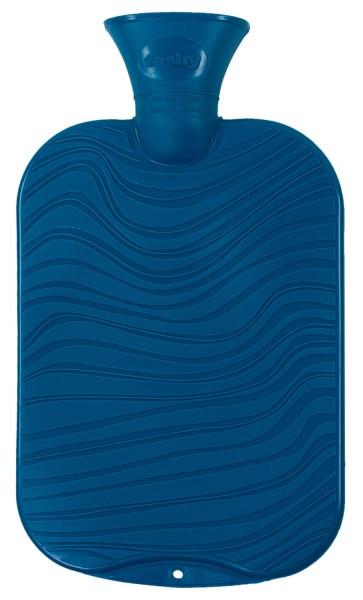 Wärmflasche blau