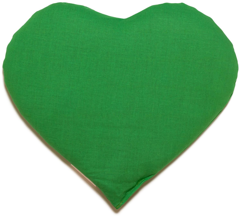 Traubenkern Herz Kissen