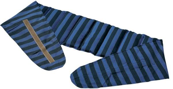 Rapssamenkissen mit Klettverschluss blau-anthrazit