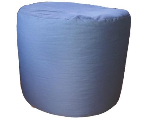 Sonderanfertigung Sitzkissen grau Höhe: 40cm, Ø50cm
