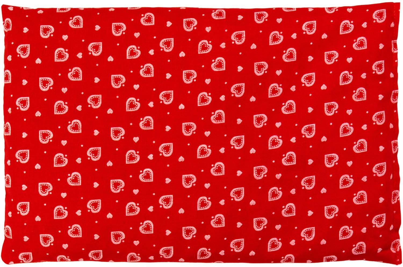 Dinkelkissen Herzen Rot