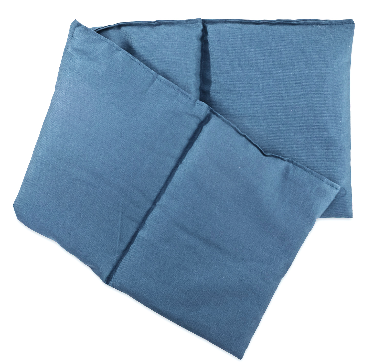 Rapssamenkissen hellblau lang
