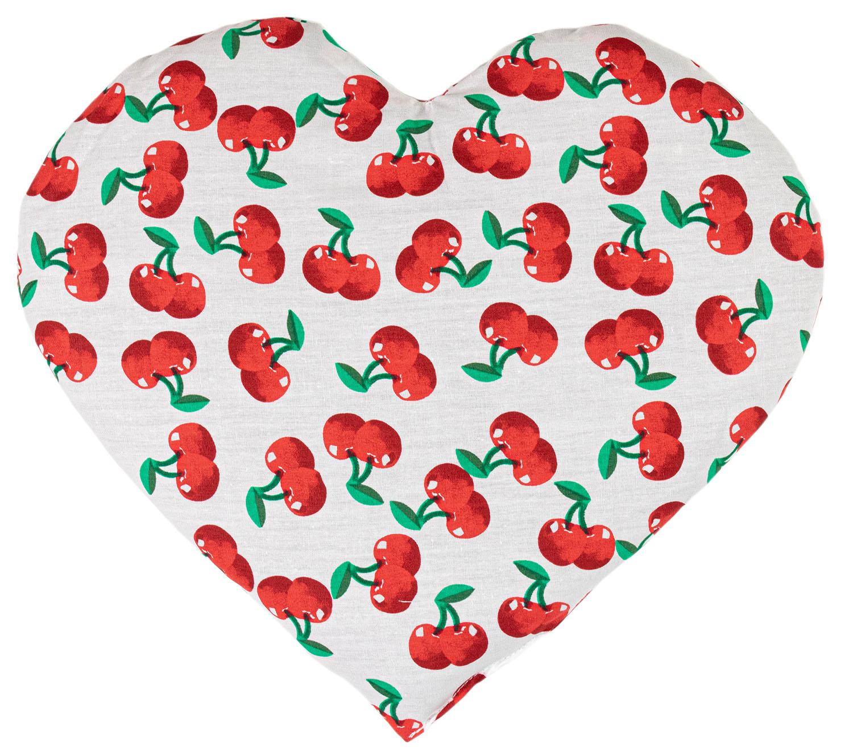 Kirschkernkissen Herz