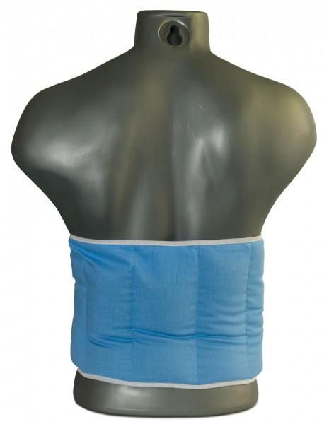 7-Kammer Kissen mit Klettverschluss, hellblau
