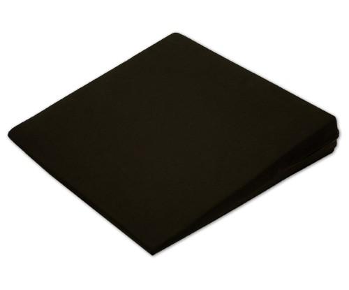 Sitzkeil + Bezug (11) schwarz 38x38x7/1cm