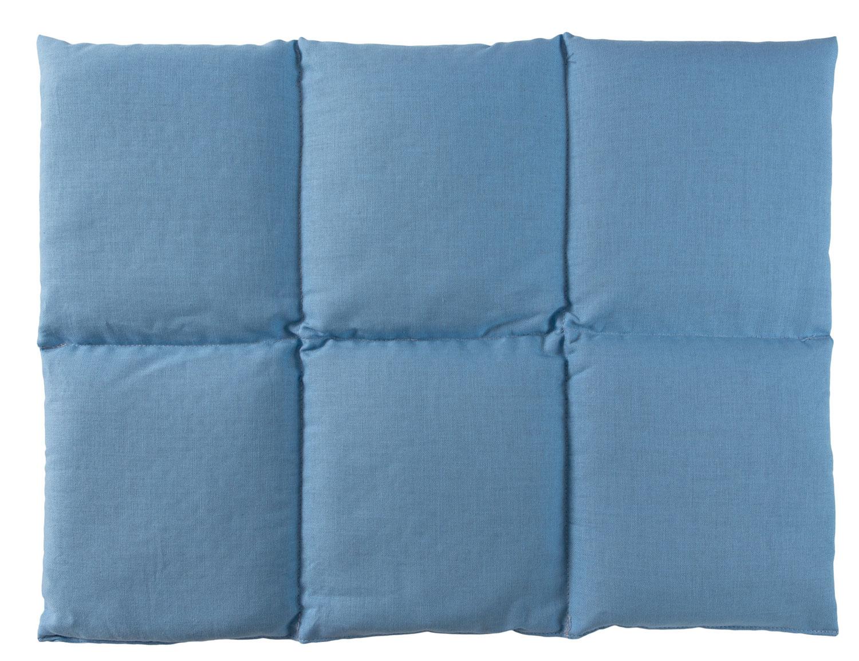 Körnerkissen hellblau