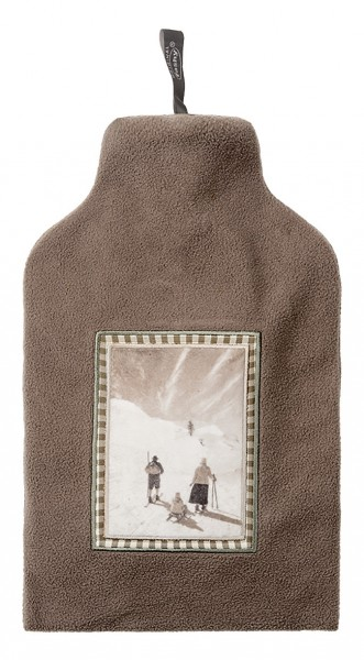 Wärmflasche 2.0l mit Bezug Skifahrer 67208