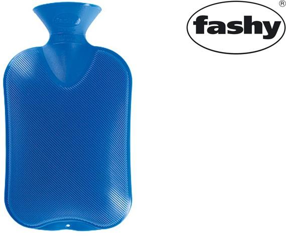 Wärmflasche 2.0l Halblamelle 6440 blau