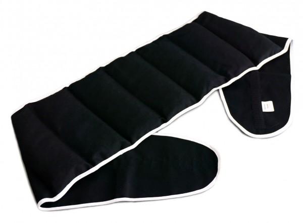Wärmekissen mit Gürtel zum Umbinden | schwarz