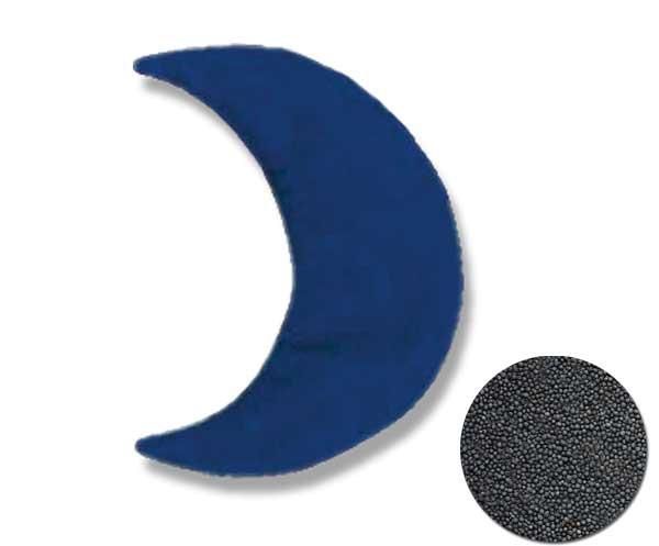 Rapssamenkissen Mond 29x13cm groß
