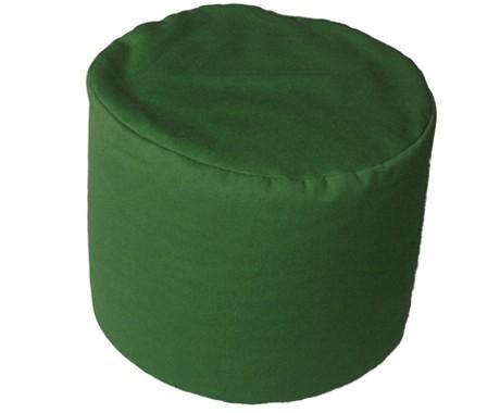 Sonderanfertigung Sitzkissen grün Höhe: 40cm, Ø50cm