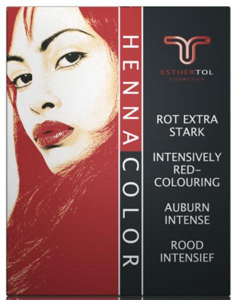 Henna Pulver Auburn rot extra stark 85g Tol Henna Farbe
