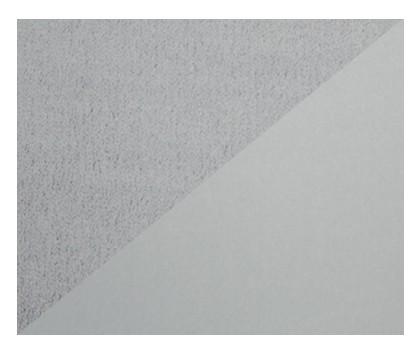 Bezug für den Plüschmond 140x27cm (72) Silbergrau