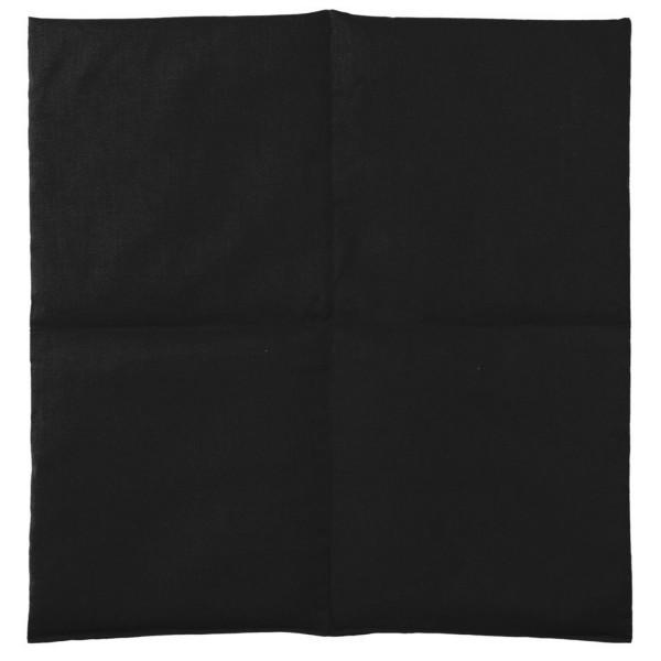Wärmekissen schwarz 40x40
